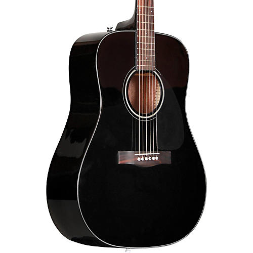 fender cd 60 dreadnought acoustic guitar black guitar center. Black Bedroom Furniture Sets. Home Design Ideas