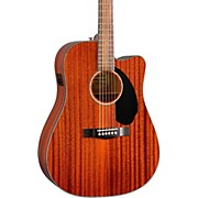 Fender CD-60SCE All Mahogany Acoustic-Electric Guitar