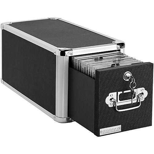 Vaultz CD Cabinet Vertical Black
