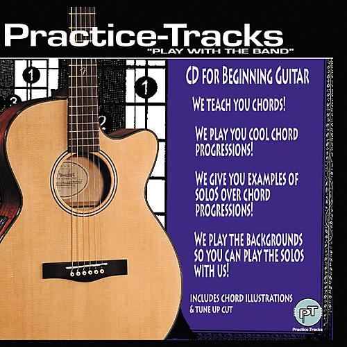 Practice Tracks CD For Beginning Guitar (CD)