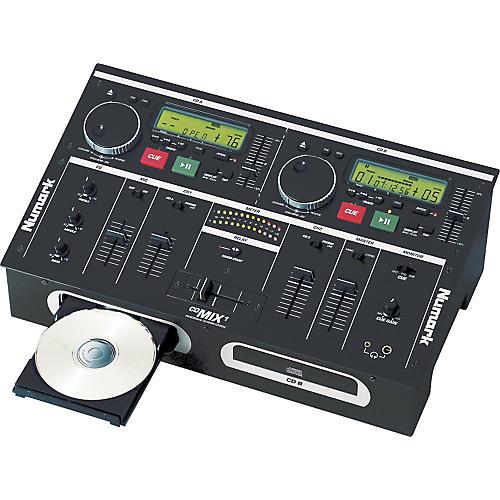 Numark CD Mix-1 Dual CD Player/Mixer-thumbnail