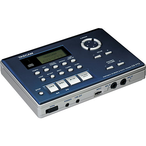 Tascam CD-VT2 Portable CD Vocal Trainer   UsedGrade1-thumbnail