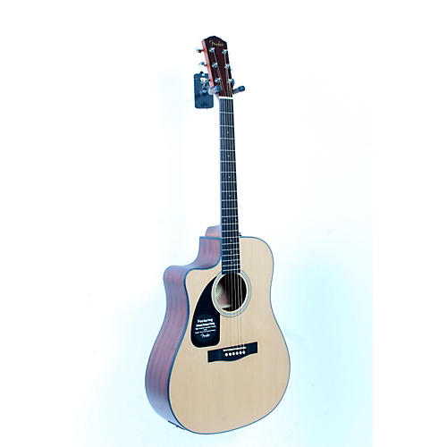 Fender CD100 CE Left-Handed Cutaway Acoustic-Electric Guitar-thumbnail