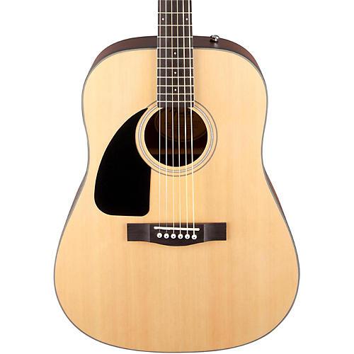 Fender CD100 Left- Handed Acoustic Guitar Natural