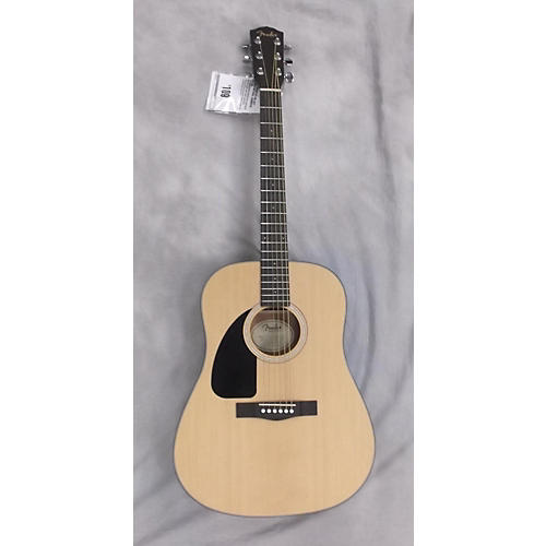 Fender CD100 Left Handed Natural Acoustic Guitar-thumbnail