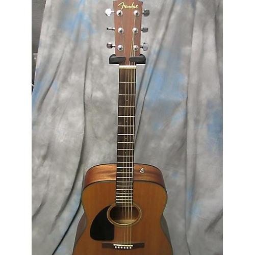 Fender CD100 Left Handed Natural Acoustic Guitar-thumbnail