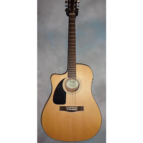 used fender cd100ce left handed acoustic electric guitar guitar center. Black Bedroom Furniture Sets. Home Design Ideas