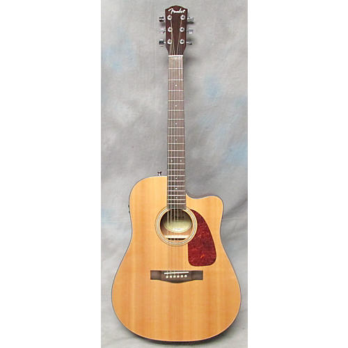Fender CD140SCE Acoustic Electric Guitar Natural