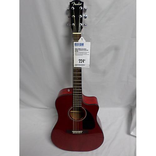 used fender cd140sce acoustic electric guitar guitar center. Black Bedroom Furniture Sets. Home Design Ideas