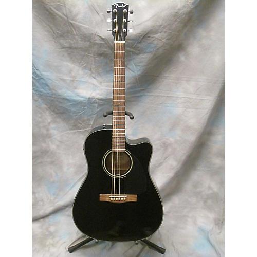 Fender CD140SCE/BLK Acoustic Electric Guitar-thumbnail