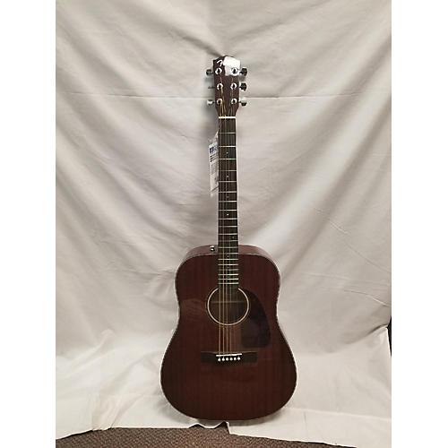 Fender CD140SCE Mahogany Acoustic Electric Guitar-thumbnail