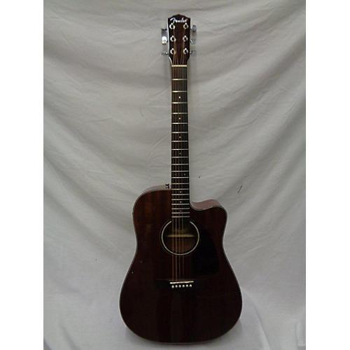 Fender CD140SCE Mahogany Acoustic Electric Guitar