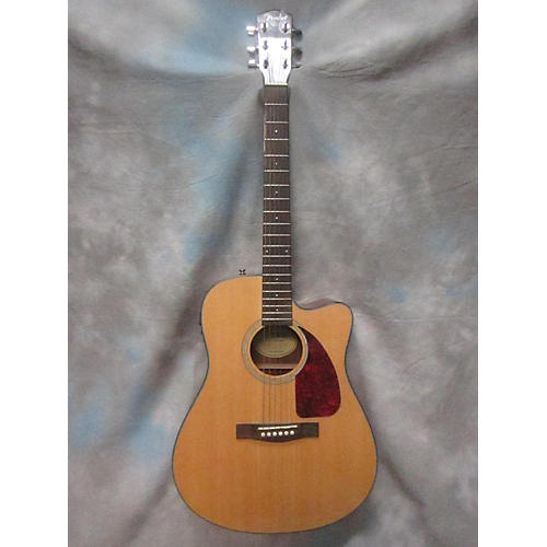 Fender CD140SCE Natural Acoustic Electric Guitar-thumbnail