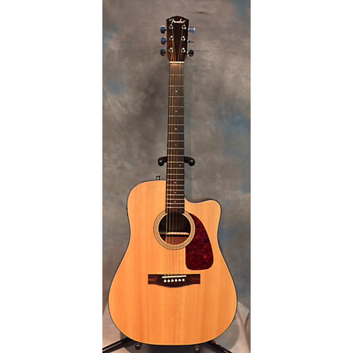 Fender CD140SCE Natural Acoustic Electric Guitar