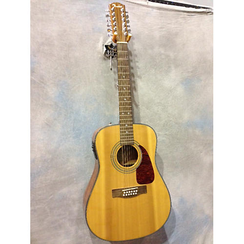 Fender CD150SE/12 Natural 12 String Acoustic Electric Guitar