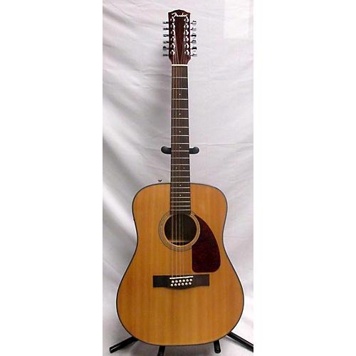 used fender cd160se 12 string acoustic electric guitar natural guitar center. Black Bedroom Furniture Sets. Home Design Ideas