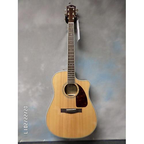 Fender CD220SCE Exotic Ash Burl Acoustic Electric Guitar-thumbnail