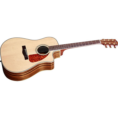 Fender CD220SCE Exotic Ovangkol Acoustic-Electric Guitar