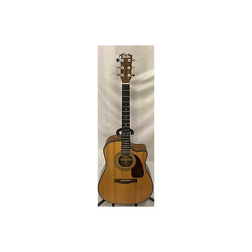 Fender CD220SCE Exotic Ovangkol Acoustic Electric Guitar-thumbnail
