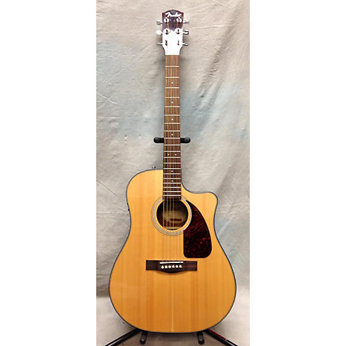Fender CD280SCE Dreadnought Natural Acoustic Electric Guitar-thumbnail