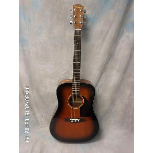 Fender CD60CE Dreadnought Sunburst Acoustic Electric Guitar-thumbnail