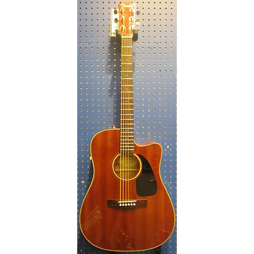 Fender CD60CE Mahogany Acoustic Electric Guitar-thumbnail