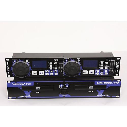 VocoPro CDG-8900 PRO Dual Tray CD/CD+G Player  886830881350