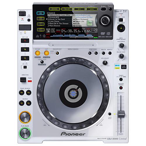 Pioneer CDJ-2000 Limited White Digital Multi Player