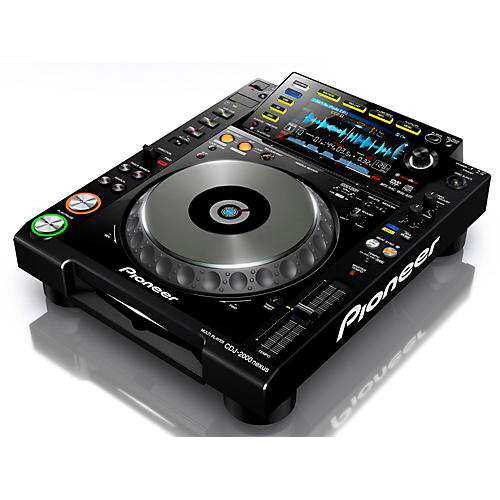 Pioneer CDJ-2000 Nexus Professional DJ Media Player Black