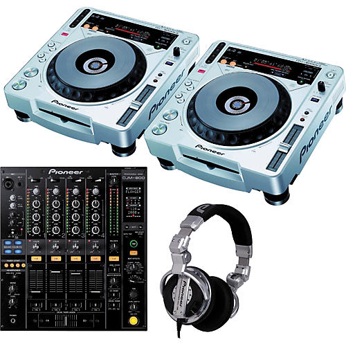 Pioneer CDJ800MK2/DJM800 Package - Free Headphones!