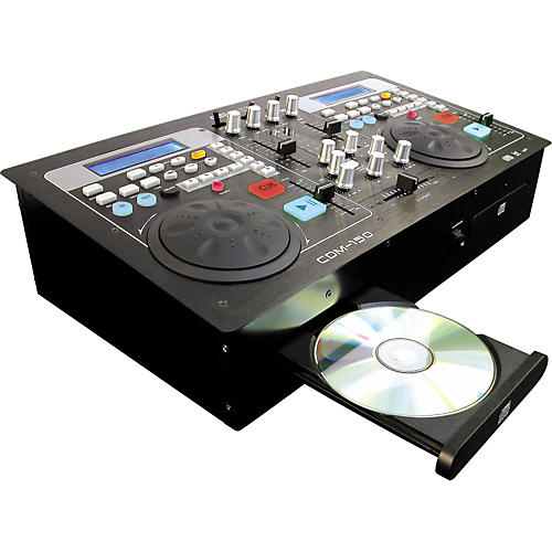 Gem Sound CDM-150 All-In-One Dual CD Player/Mixer