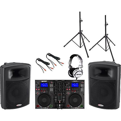 Gemini CDM-3610 / APS-15 DJ Package