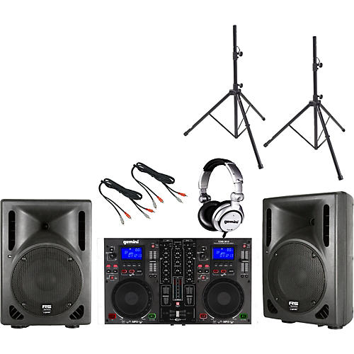 Gemini CDM-3610 / RS-410 DJ Package-thumbnail