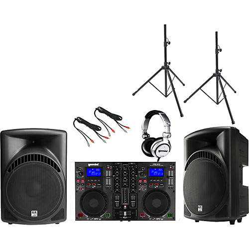 Gemini CDM-3610 / RS-415 DJ Package