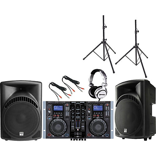 Gemini CDM-3700G /  RS-415 DJ Package