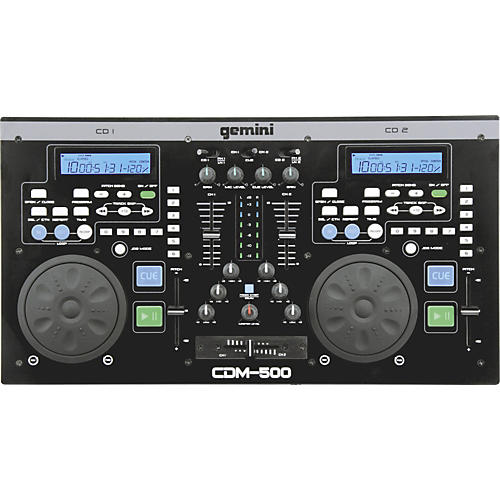 Gemini CDM-500 Professional DJ Station