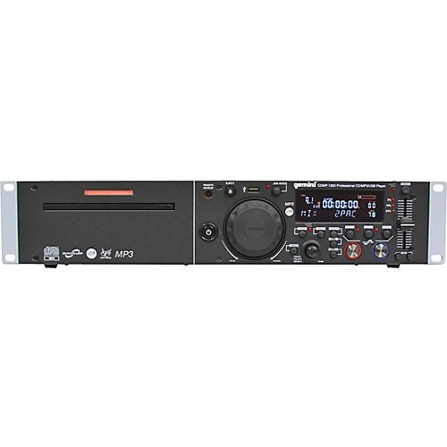 Gemini CDMP-1300 Single CD/MP3 USB Player-thumbnail