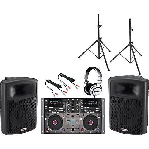 Gemini CDMP-6000 / APS-15 DJ Package