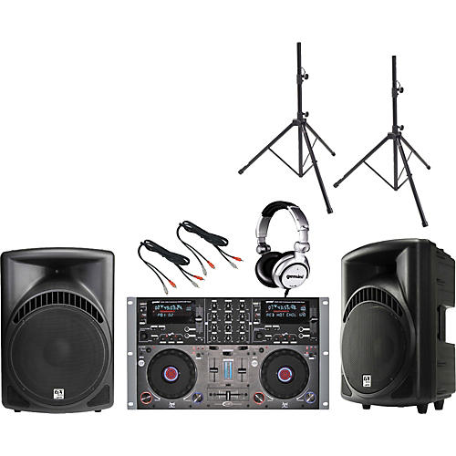 Gemini CDMP-6000 /  RS-412 DJ Package