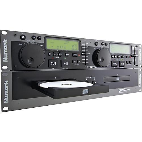 Numark CDN22 MK5 Rackmount Dual CD Player