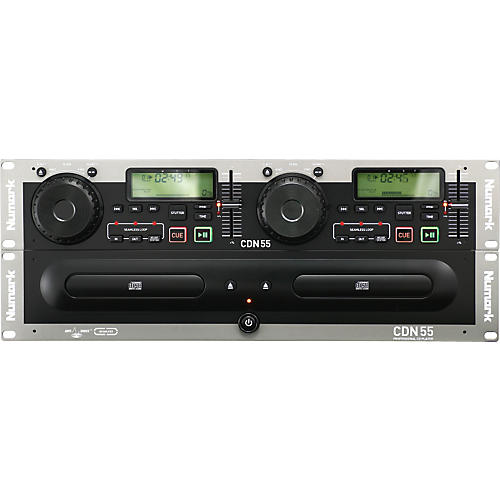 Numark CDN55 Rack Mount Professional Dual CD Player