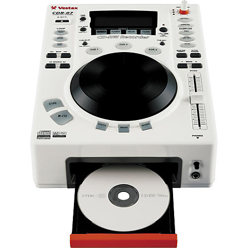 Vestax CDR-07 Tabletop CD Recorder / Scratch Player-thumbnail