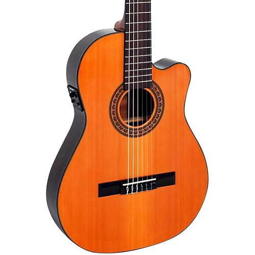 Giannini CDR-PRO Nylon String Acoustic-Electric Guitar-thumbnail