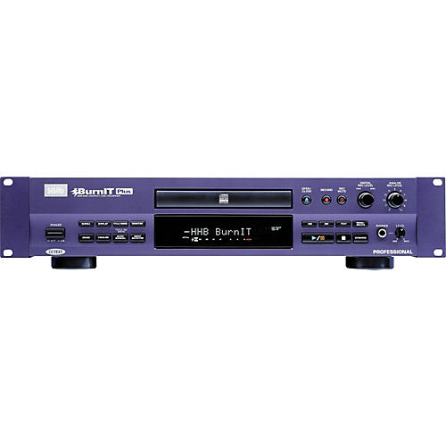 HHB CDR830PLUS Burnit Plus Pro CD Recorder