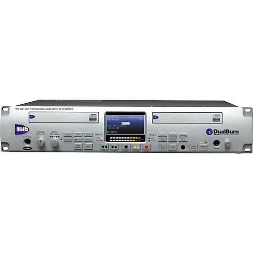 HHB CDR882 DualBurn CD Recorder