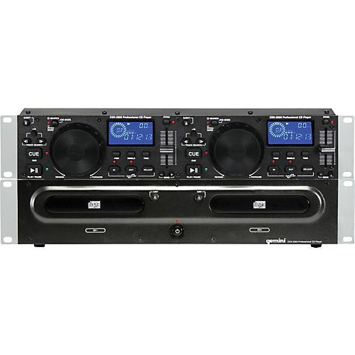 Gemini CDX-2200 2U Dual CD Player-thumbnail