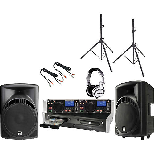 Gemini CDX-2410 / RS-410 DJ Package-thumbnail