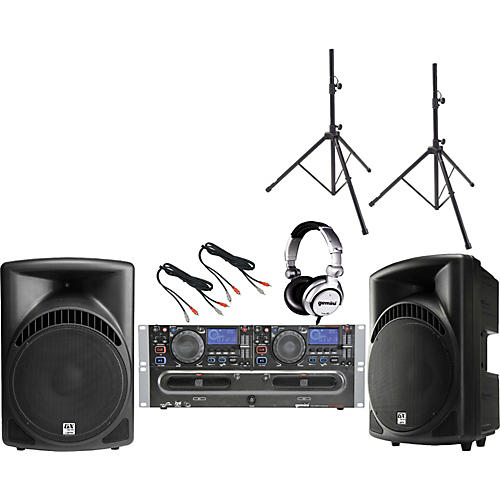 Gemini CDX-2500G /  RS-415 DJ Package-thumbnail