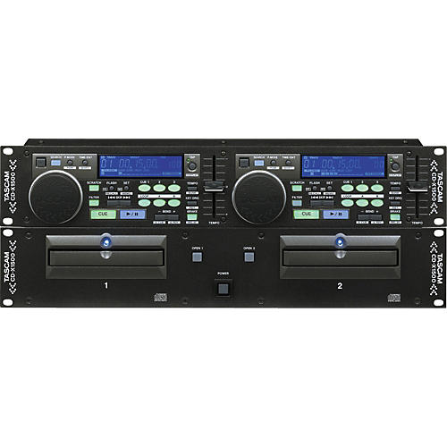 Tascam CDX1500 Dual CD Player-thumbnail