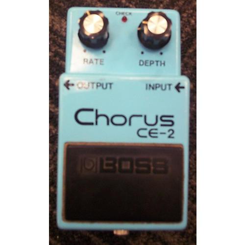 Boss CE2 Chorus MIJ Blue Effect Pedal-thumbnail